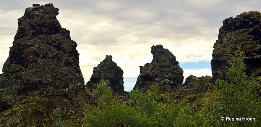 Dimmuborgir at Mývatn