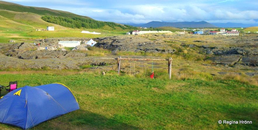 Camping at Mývatn