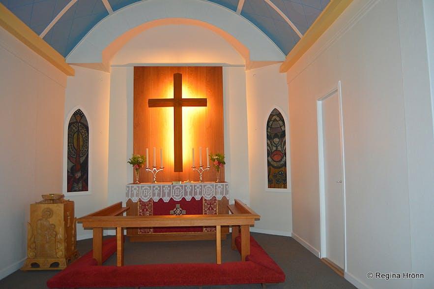 The Church at Reykjahlíð in Mývatn