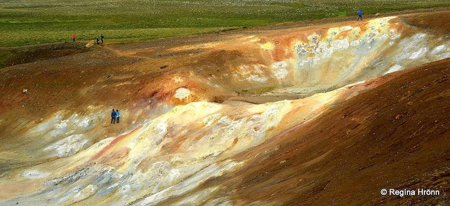 Krafla geothermal area