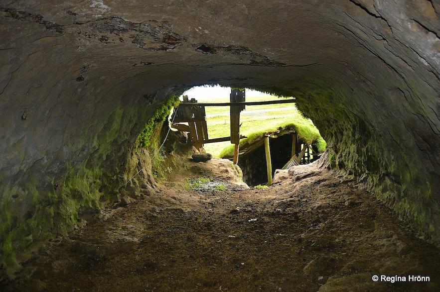 Rútshellir cave in South-Iceland - inside photos