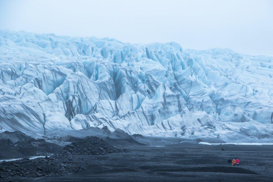 Fjallsjokull glacier in Iceland