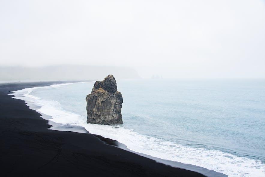 Iceland's shores are full on interesting landmarks