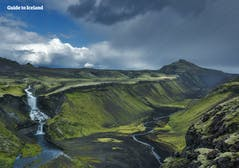Eldgjá_Ófærufoss _ Canyon_Waterfall _ Highlands _ Summer _ WM.jpg