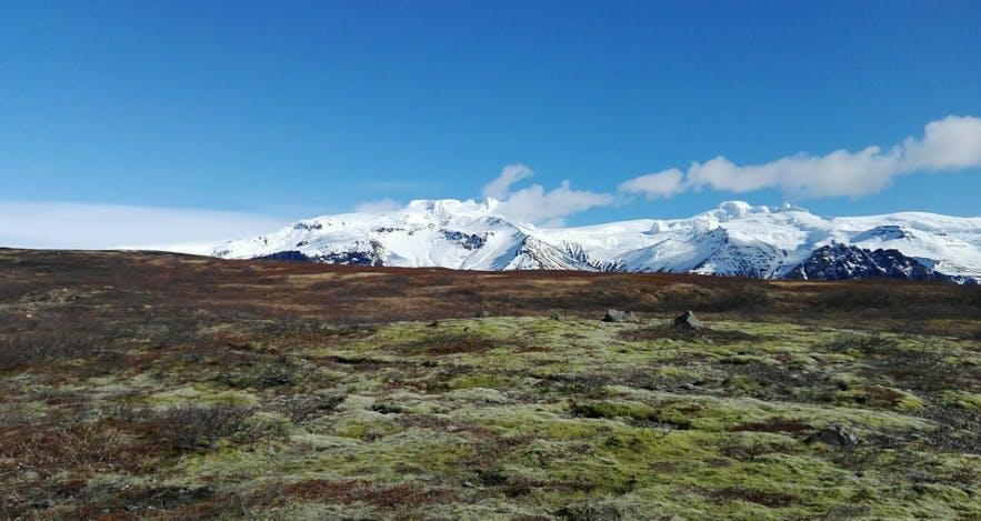 Oraefajokull glacier in South Iceland