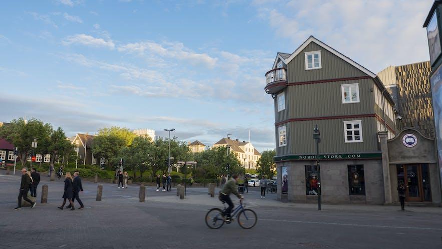 Laekjargata in Reykjavik