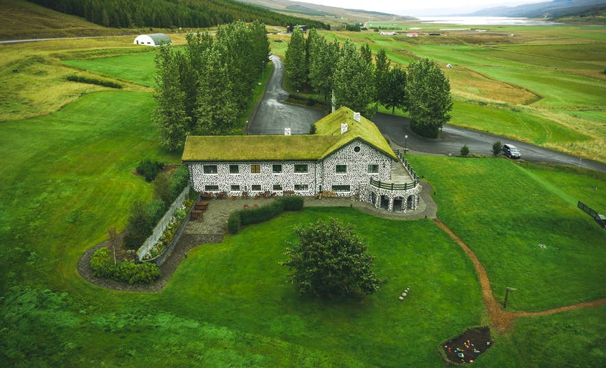 Skriduklaustur culture centre in the East of Iceland