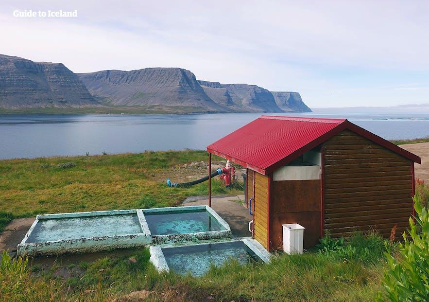 Swimming pool at Tálknafjörður