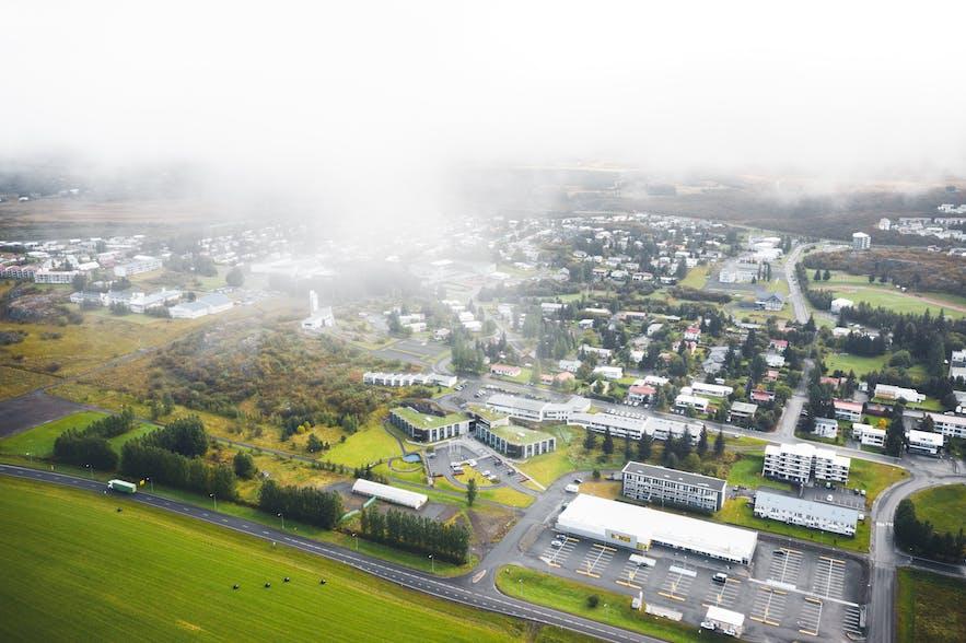 Egilsstadir, where Egilsstadir Airport is based