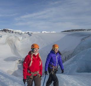 Glacier Experience | Glacier Hike on Solheimajokull Glacier