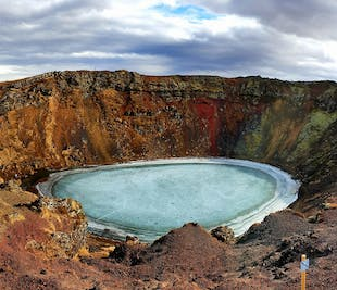 The Golden Circle & Kerid Volcanic Crater | Sightseeing Small Group Day Tour