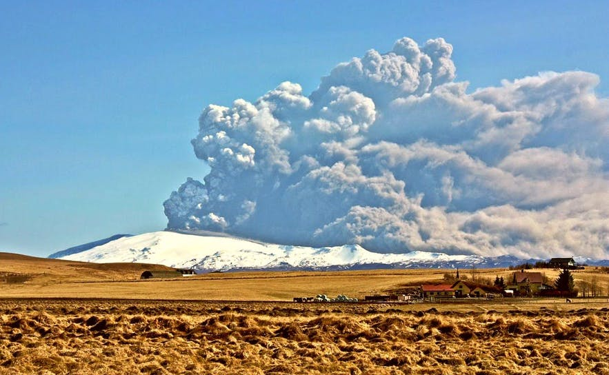 Eyjafjallajokull erupted in 2010; Iceland's tourist board used this natural spectacle to attract visitors to the island, a strategy that has all but saved the Icelandic economy over the last decade.