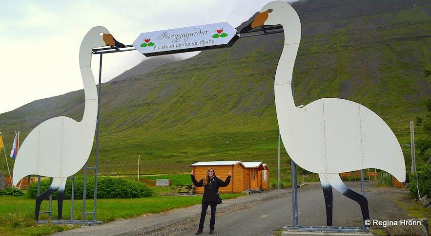Raggagarður family park in Súðavík