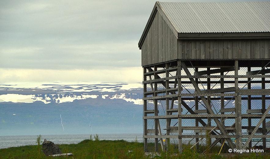 Langeyri in the Westfjords of Iceland