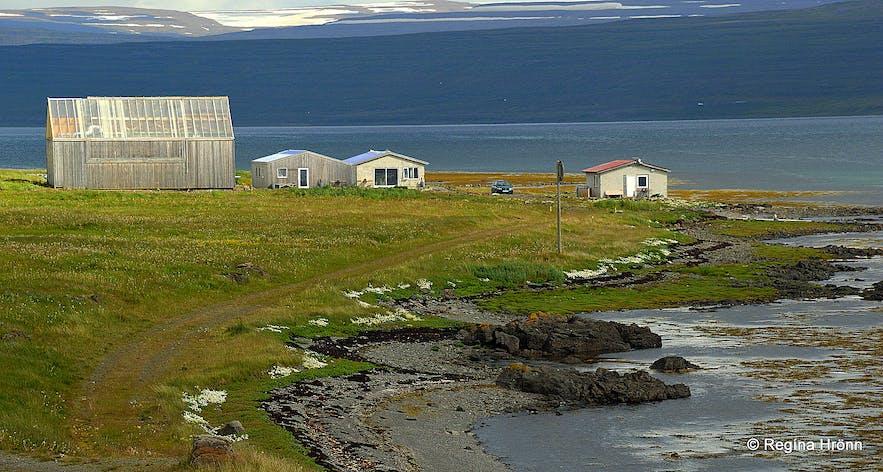 Saltverksmiðjan - the Salt Factory at Reykjanes Westfjords