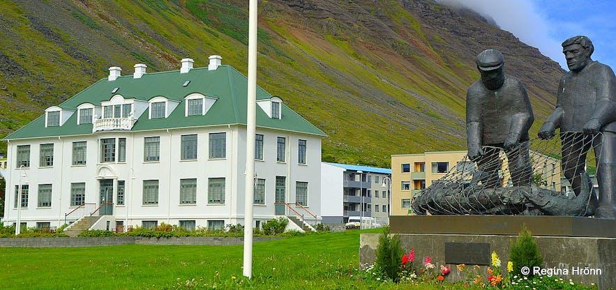 Gamli spítalinn - the Old hospital Ísafjörður