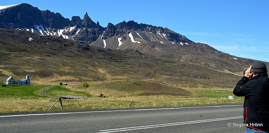 Hraundrangi in Öxnadalur North-Iceland