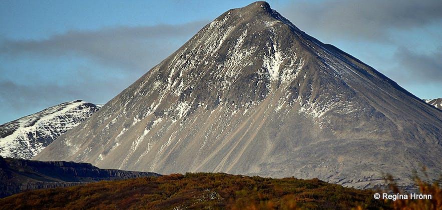 Mt. Baula in Borgarfjörður