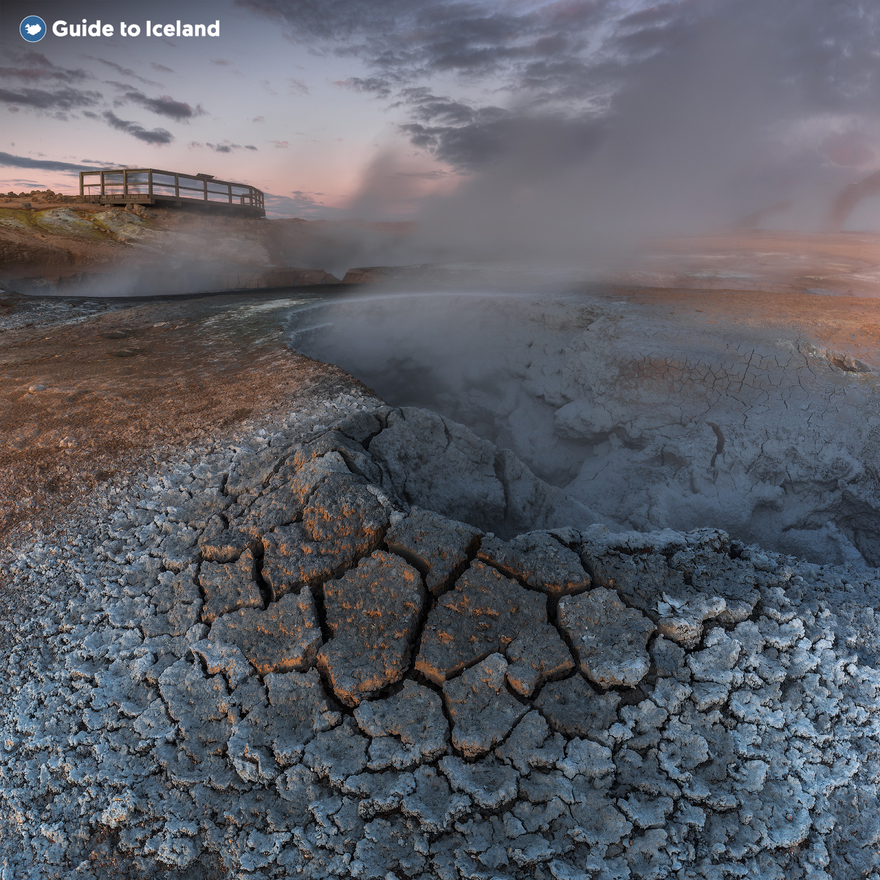 An image of the Geothermal North of Iceland.