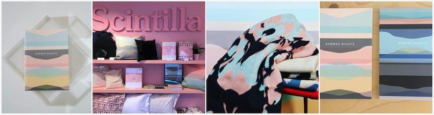 雷克雅未克购物主街上的特色设计店Scintilla