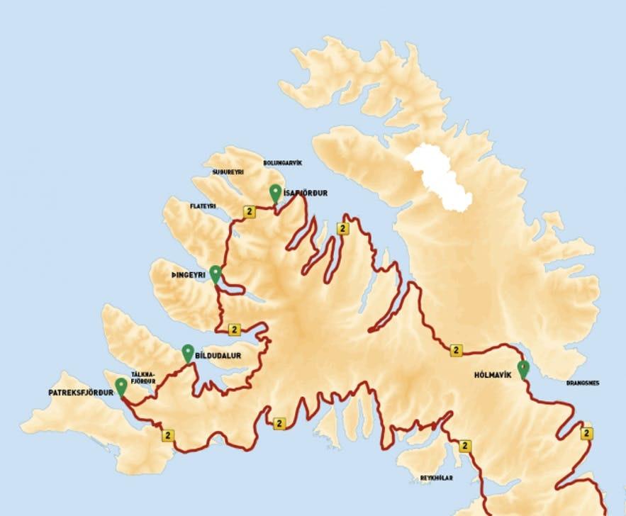 冰島西峽灣二號環島公路