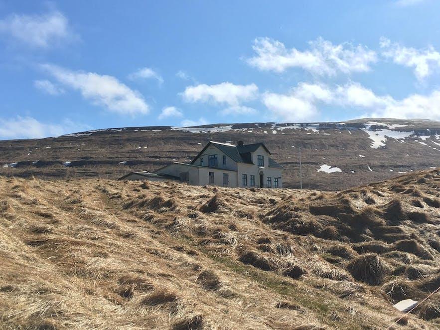 Illugastadir farm on Vatnsnes Peninsula in North Iceland