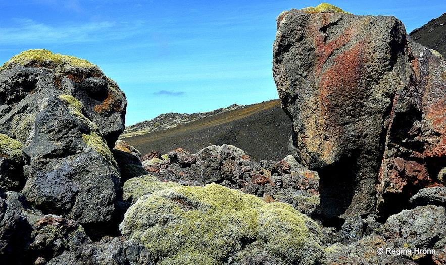 Eldborg scoria crater on Reykjanesskagi