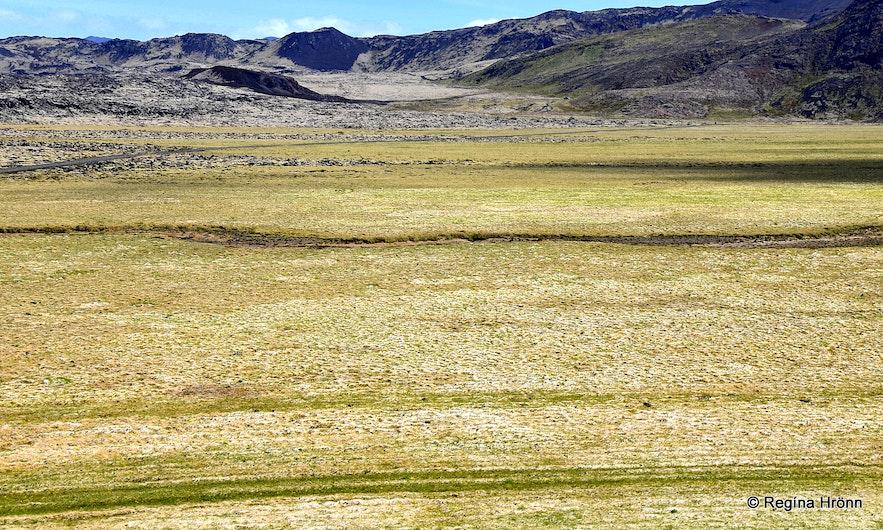 Höskuldarvellir plains - Reykjanes peninsula