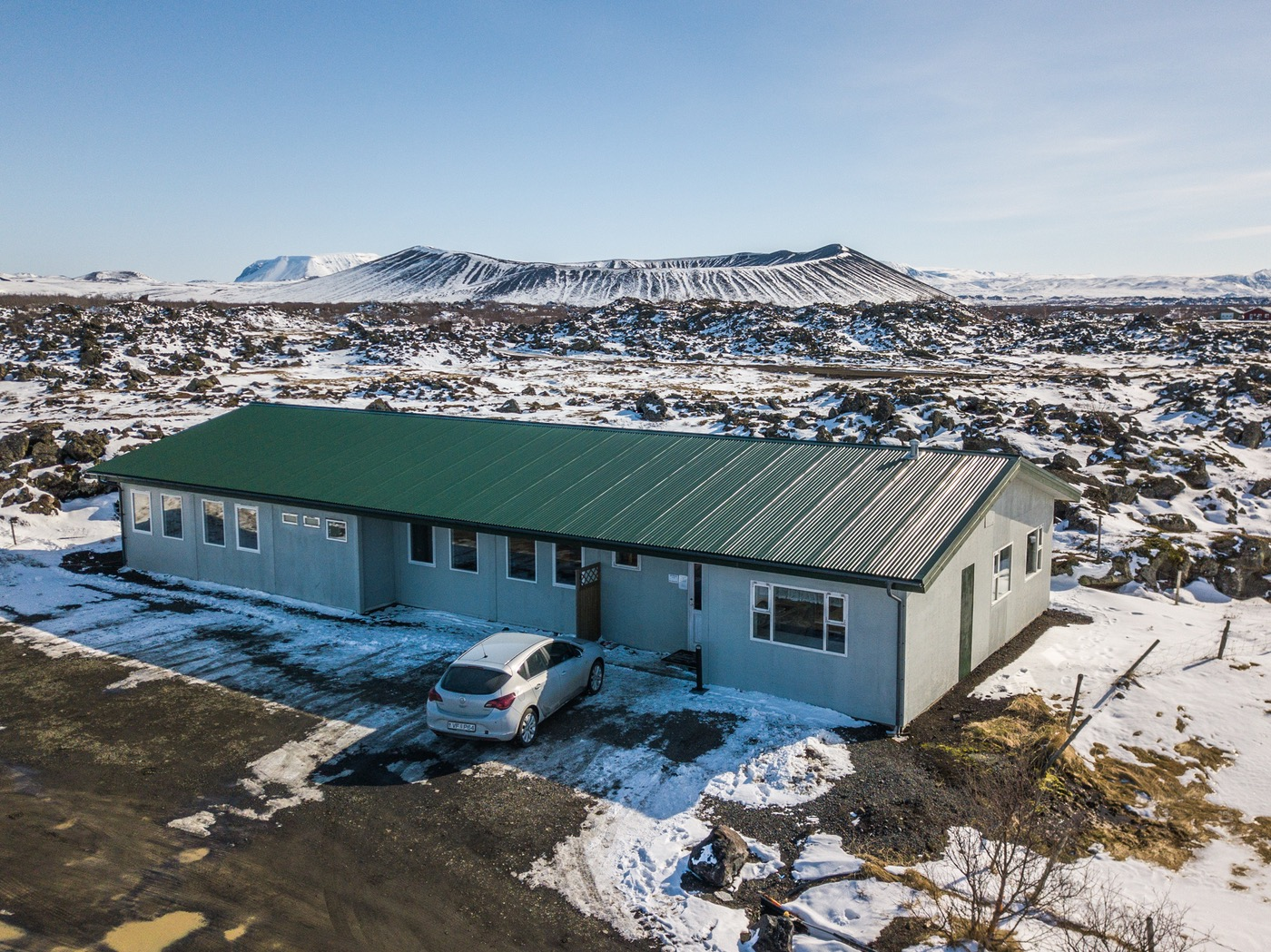 Vogahraun Guesthouse is located in the Lake Myvatn area.