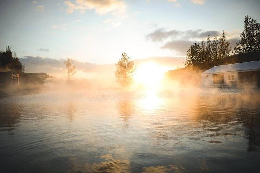 冰島Fludir 秘密溫泉