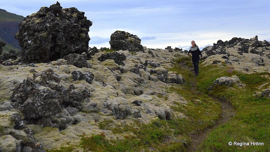 Berserkjagata on the Snæfellsnes peninsula