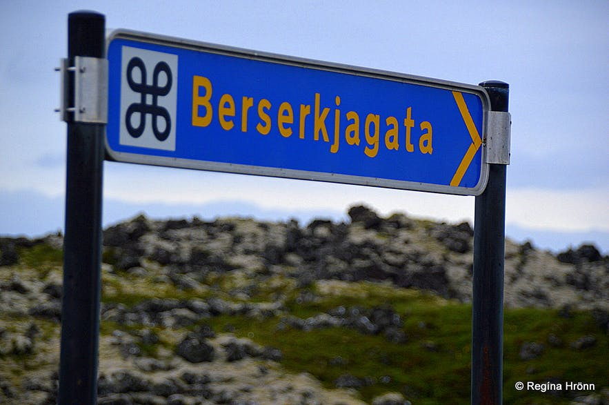 Berserkjagata trail on the Snæfellsnes peninsula