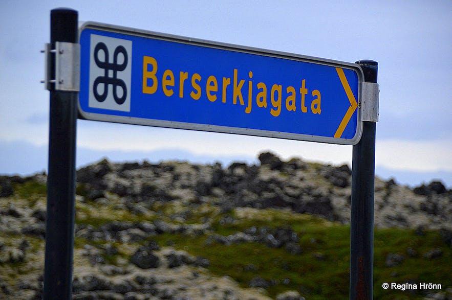Berserkjagata trail on the Snæfellsnes peninsula