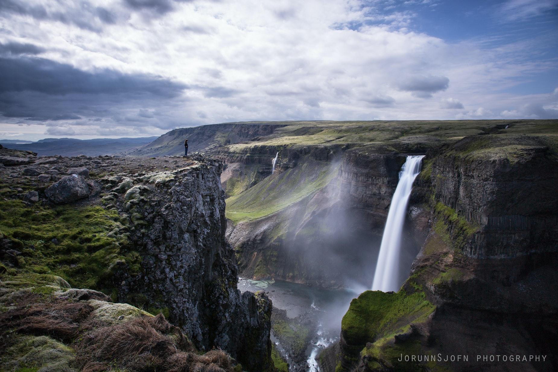 Háifoss in Iceland