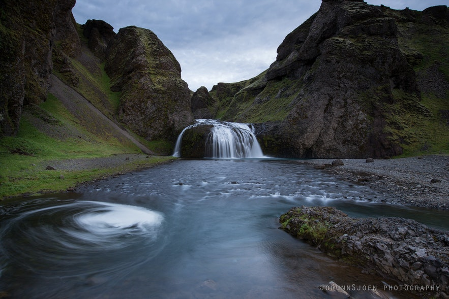 stjórnarfoss in Iceland