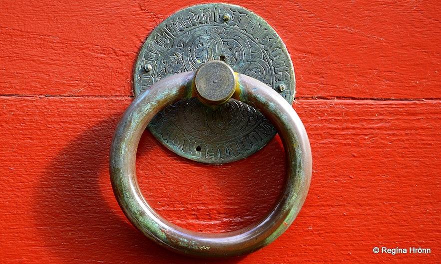 Haukadalskirkja church - church ring
