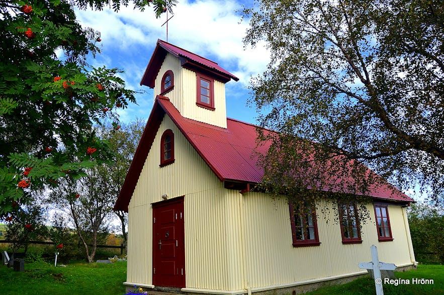 Haukadalskirkja church