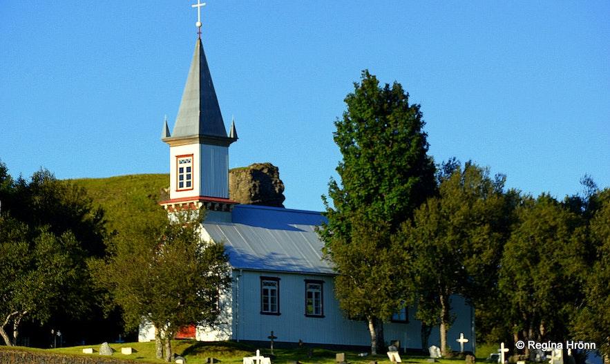 Hrunakirkja church