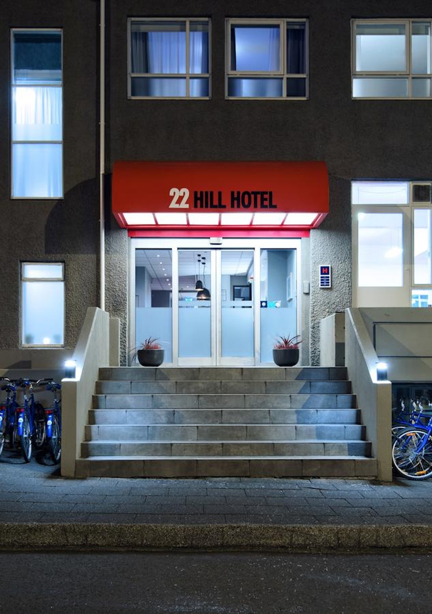 22 Hill Hotel can be found in Reykjavik.