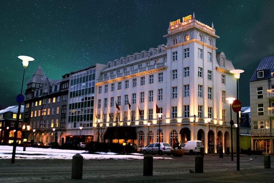 Keohotels Borg is an award-winning central hotel in Reykjavik.