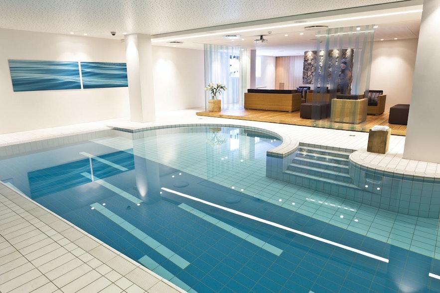 Icelandair Hotel Reykjavik Natura has a swimming pool.