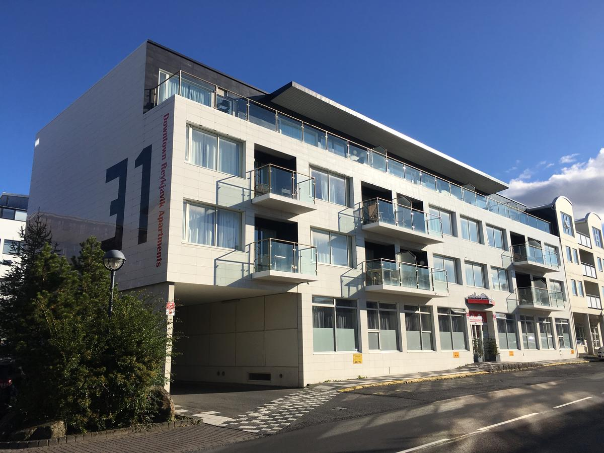 The Downtown Reykjavik Apartments have a fantastic location in central Reykjavik.