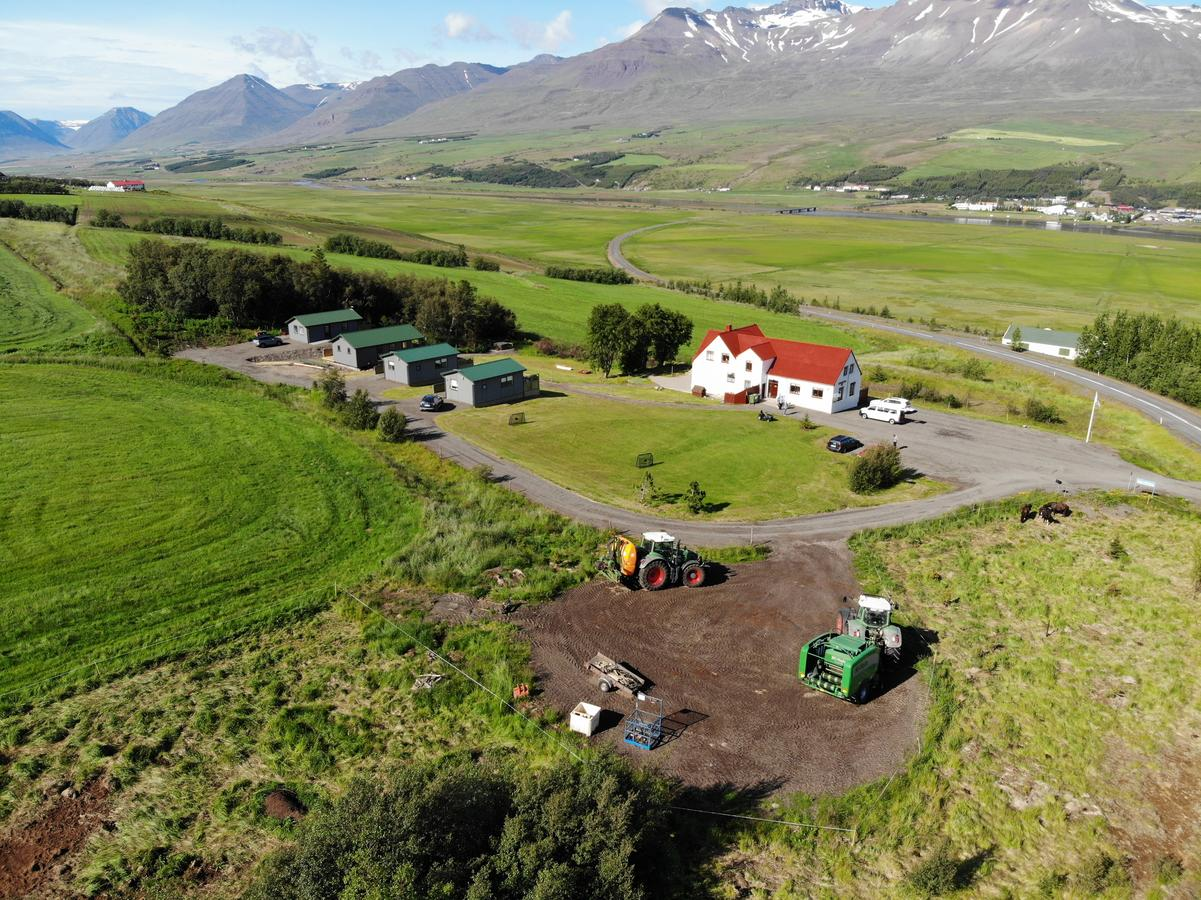 Silva Holiday Home is a set of cabins in north Iceland.