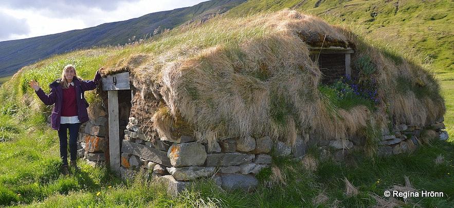 Turf houses of Hjarðarhagi farm