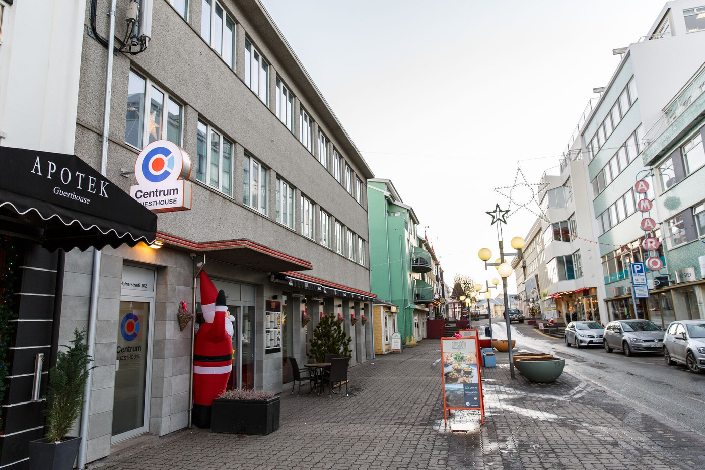 Centrum Guesthouse is a hotel in Akureyri.