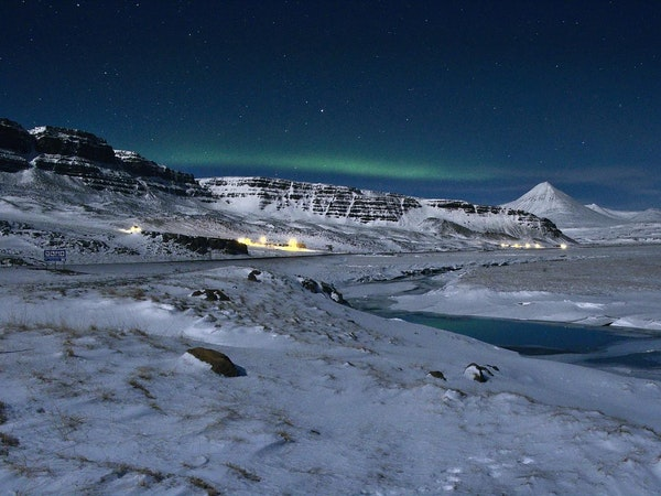 The Hraunsnef Countryside Hotel is a great place to admire the Northern Lights.