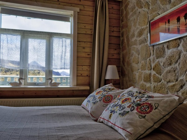 The rooms at Hraunsnef hotel are spacious and clean.