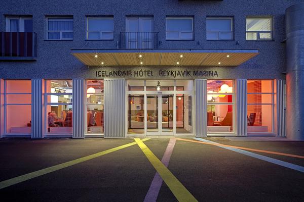 Icelandair Hotel Reykjavík Marina sits right by Reykjavik's harbour.