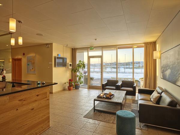 Icelandair Hotel Hamar has spacious living areas in its suites.