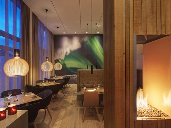 Icelandair Hotel Akureyri has a modern, Icelandic design.